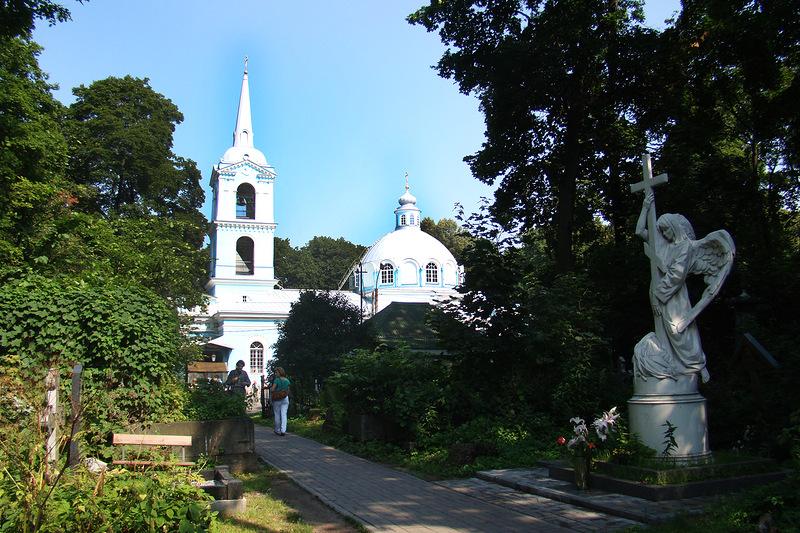 Смоленское православное кладбище