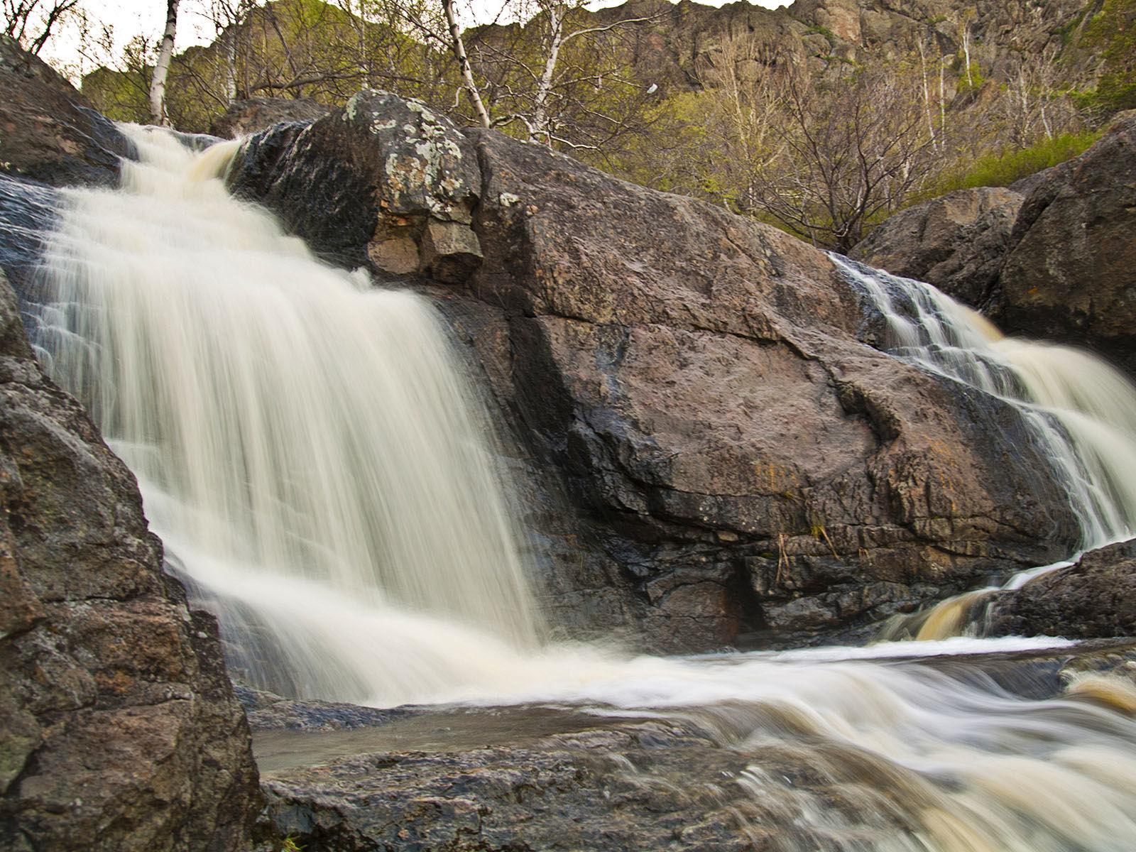 Gädelsha Wasserfälle